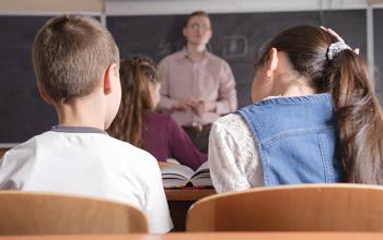 docente e bambini
